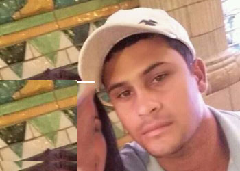 Caique tentou fugir do assassino, mas foi morto dentro do banheiro.